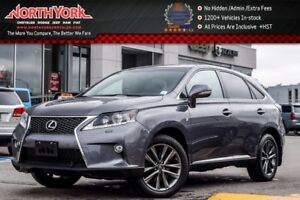 2015 Lexus RX 350 F Sport|AWD|HeadsUp|PkngSensors|Sunroof|BlindS