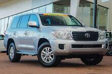2015 Toyota Landcruiser VDJ200R MY13 GXL Premium Silver 6 Speed Sports Automatic Wagon Wangara Wanneroo Area Preview