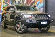 2014 Jeep Grand Cherokee WK MY15 Overland Grey 8 Speed Sports Automatic Wagon Perth Perth City Area Preview