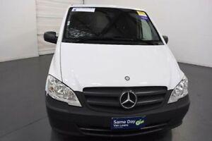 2011 Mercedes-Benz Vito 639 MY11 113CDI LWB White Automatic Van