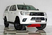 2015 Toyota Hilux GUN126R SR (4x4) White 6 Speed Automatic Dual Cab Utility Burleigh Heads Gold Coast South Preview