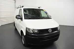 2014 Volkswagen Transporter T5 MY14 TDI250 SWB White Manual Van Moorabbin Kingston Area Preview