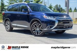 2016 Mitsubishi Outlander GT ONE OWNER, LOW KM, SEATING FOR SEVE