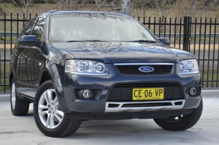 2010 Ford Territory SY Mkii TS RWD Limited Edition Black 4 Speed Auto Seq Sportshift Wagon Pearce Woden Valley Preview