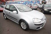 2005 Volkswagen Golf V Comfortline Tiptronic Silver 6 Speed Sports Automatic Hatchback Kingsville Maribyrnong Area Preview