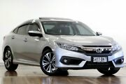 2016 Honda Civic 10th Gen MY16 VTI-LX 1 Speed Constant Variable Sedan Adelaide CBD Adelaide City Preview