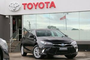 2016 Toyota Camry AVV50R Atara SL Eclipse Black 1 Speed Constant Variable Sedan Hybrid Old Guildford Fairfield Area Preview