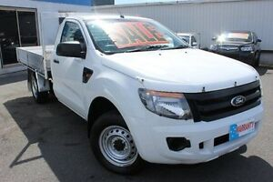 2012 Ford Ranger PX XL 4x2 White 5 Speed Manual Cab Chassis Yeerongpilly Brisbane South West Preview