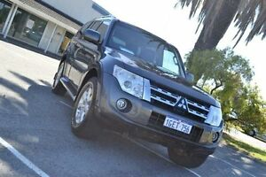 2012 Mitsubishi Pajero NW MY12 GLS LWB (4x4) Grey 5 Speed Auto Sports Mode Wagon Maddington Gosnells Area Preview