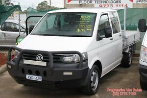 2010 Volkswagen Transporter UTILITY Crew Cab 6 Speed Manual Utility Carrum Downs Frankston Area Preview