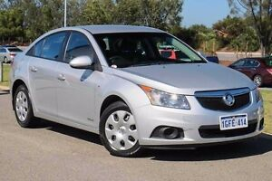 2011 Holden Cruze JH Series II MY12 CD Silver 6 Speed Sports Automatic Sedan Mindarie Wanneroo Area Preview