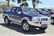 2004 Nissan Navara D22 S2 ST-R Blue 5 Speed Manual Utility Wangara Wanneroo Area Preview