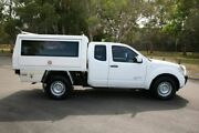 2012 Nissan Navara D40 S6 MY12 RX King Cab White 5 Speed Automatic Cab Chassis Slacks Creek Logan Area Preview