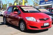 2008 Toyota Corolla ZRE152R Ascent Red 6 Speed Manual Hatchback Ringwood East Maroondah Area Preview