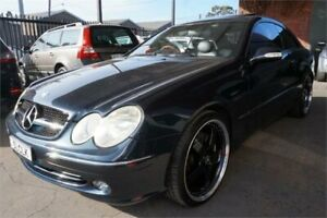 2002 Mercedes-Benz CLK-Class C209 CLK500 Elegance Dark 5 Speed Automatic Coupe Revesby Bankstown Area Preview
