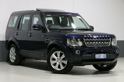 2016 Land Rover Discovery MY16 3.0 TDV6 Blue 8 Speed Automatic Wagon Bentley Canning Area Preview