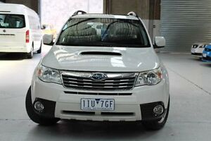 2010 Subaru Forester S3 2.0D White Manual Wagon Knoxfield Knox Area Preview