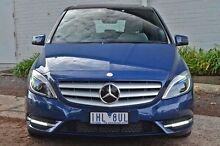 2012 Mercedes-Benz B180  Blue Sports Automatic Dual Clutch Hatchback Burwood Whitehorse Area Preview