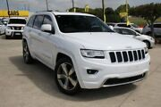 2014 Jeep Grand Cherokee WK MY15 Overland White 8 Speed Sports Automatic Wagon Buderim Maroochydore Area Preview