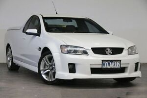 2009 Holden Ute VE MY09.5 SV6 White 5 Speed Sports Automatic Utility Southbank Melbourne City Preview