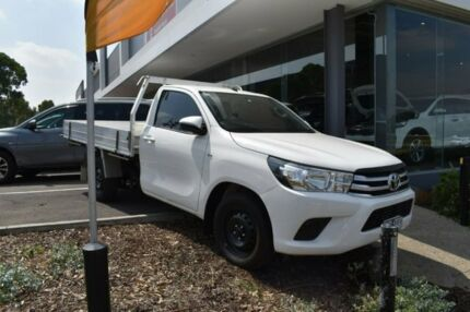 2015 Toyota Hilux White Manual Cab Chassis Mill Park Whittlesea Area Preview