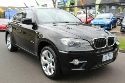 2009 BMW X6 E71 xDrive35i Coupe Steptronic Black 6 Speed Sports Automatic Wagon