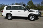 2015 Toyota Landcruiser VDJ200R MY13 GX Glacier White 6 Speed Sports Automatic Wagon Clarkson Wanneroo Area Preview