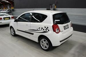2010 Holden Barina TK MY10 White 5 Speed Manual Hatchback Maryville Newcastle Area Preview