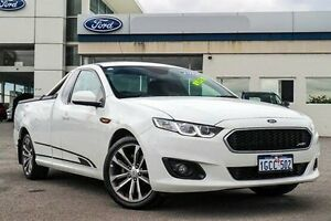 2014 Ford Falcon FG X XR6 Ute Super Cab White 6 Speed Sports Automatic Utility Morley Bayswater Area Preview