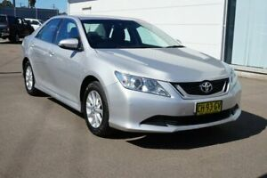 2016 Toyota Aurion GSV50R AT-X Silver 6 Speed Sports Automatic Sedan Cardiff Lake Macquarie Area Preview