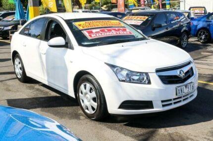 2010 Holden Cruze JG CD White 6 Speed Sports Automatic Sedan Ringwood East Maroondah Area Preview