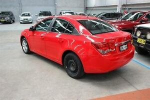 2010 Holden Cruze JG CD Red 5 Speed Manual Sedan Maryville Newcastle Area Preview