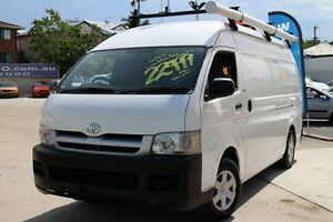 2005 Toyota Hiace TRH221R High Roof Super LWB White 4 Speed Automatic Van Greenslopes Brisbane South West Preview
