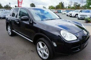 2003 Porsche Cayenne 9PA S Black 6 Speed Sports Automatic Wagon Revesby Bankstown Area Preview