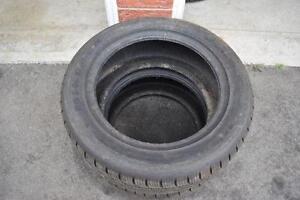 215/55/16 Minerva Ice Plus Snow Tires PAIR ONLY 85% Tread