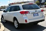 2012 Subaru Outback B5A MY12 2.5i Lineartronic AWD Satin White Pearl 6 Speed Constant Variable Wagon Willagee Melville Area Preview