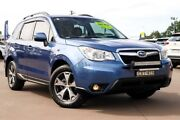 2015 Subaru Forester S4 MY15 2.5i-L CVT AWD Special Edition Blue 6 Speed Constant Variable Wagon McGraths Hill Hawkesbury Area Preview