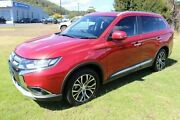 2015 Mitsubishi Outlander ZK MY16 Exceed 4WD Red 6 Speed Sports Automatic Wagon Burnie Area Preview