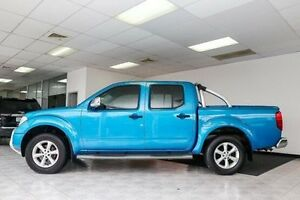 2009 Nissan Navara D40 ST-X Blue 6 Speed Manual Utility Victoria Park Victoria Park Area Preview