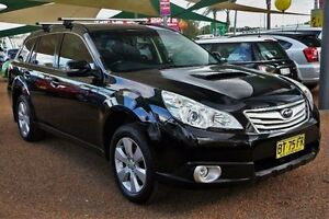 2009 Subaru Outback B5A MY10 2.0D AWD Black 6 Speed Manual Wagon Minchinbury Blacktown Area Preview