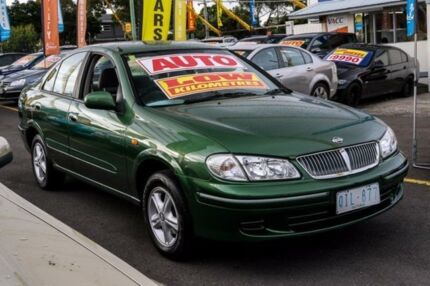 2000 Nissan Pulsar N16 TI Green 4 Speed Automatic Sedan Ringwood East Maroondah Area Preview
