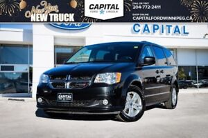 2016 Dodge Grand Caravan **Stow 'N Go Seating-Heated Mirrors**