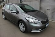2014 Kia Cerato YD MY14 S Grey 6 Speed Sports Automatic Hatchback Burnie Area Preview