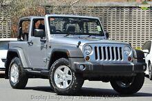 2014 Jeep Wrangler JK MY15 Sport (4x4) Billet Silver 5 Speed Automatic Softtop Mosman Mosman Area Preview