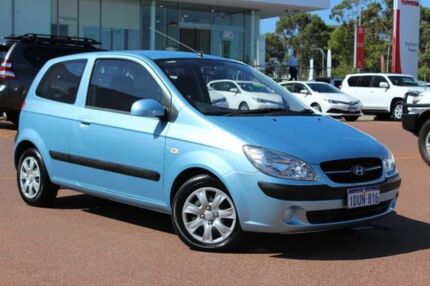2010 Hyundai Getz TB MY09 S Blue 5 Speed Manual Hatchback Westminster Stirling Area Preview