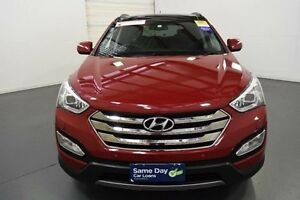 2013 Hyundai Santa Fe DM Elite CRDi (4x4) Red 6 Speed Automatic Wagon Moorabbin Kingston Area Preview