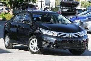 2015 Toyota Corolla ZRE172R Ascent S-CVT Black 7 Speed Constant Variable Sedan Toowong Brisbane North West Preview