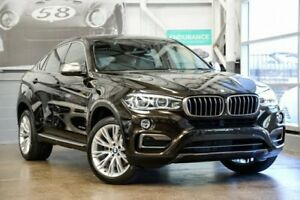 2015 BMW X6 F16 xDrive30d Coupe Steptronic Sparkling Storm Brilliant Effect 8 Speed Sports Automatic