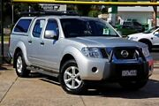 2014 Nissan Navara D40 S6 MY12 ST Silver 5 Speed Sports Automatic Utility Braybrook Maribyrnong Area Preview