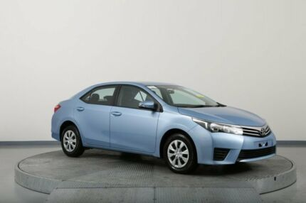 2016 Toyota Corolla ZRE172R Ascent Blue 7 Speed CVT Auto Sequential Sedan